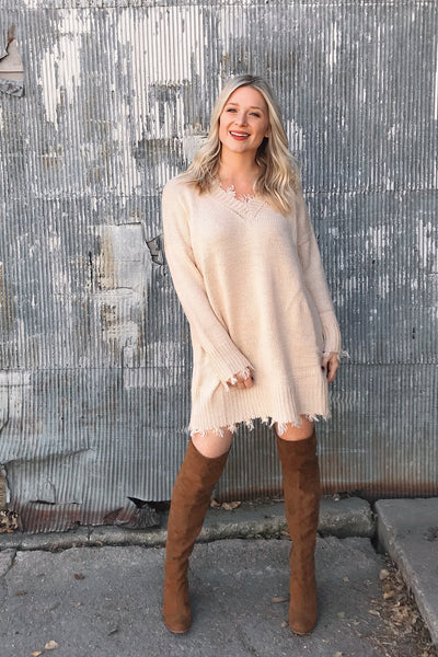 FAWN SWEATER MINI
