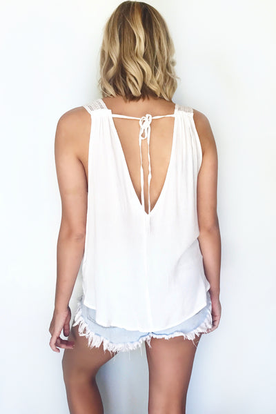 NANTUCKET TANK (WHITE)