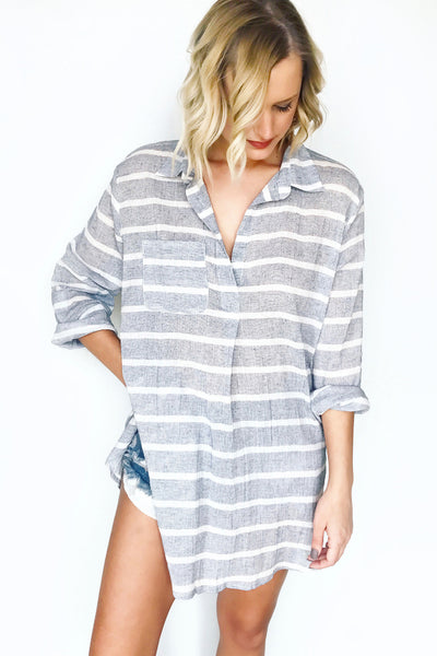 NILE STRIPED TUNIC
