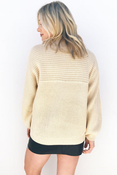 UNION RIBBED SWEATER