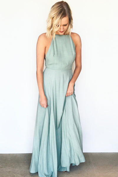 VIBIANA LOW-BACK MAXI
