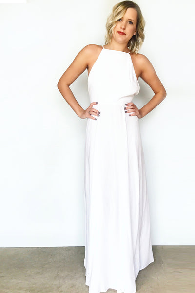 VIBIANA LOW-BACK MAXI (WHITE)