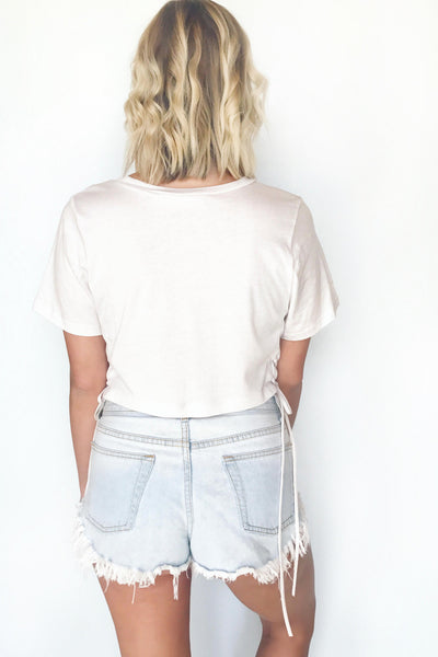ZEPPELIN LACE-UP TEE