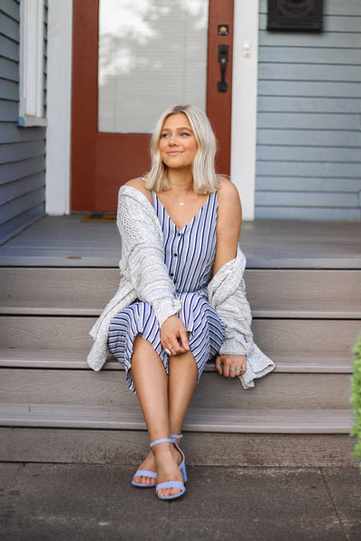 WEEKEND STRIPED PANTSUIT