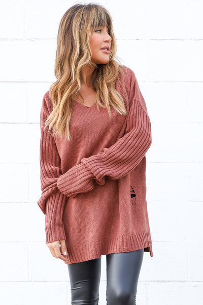 COOPER HOODED KNIT