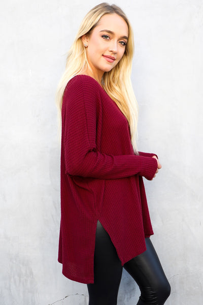 FOSTER WAFFLE BASIC (DEEP RED)