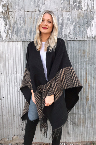 FALL READY PONCHO
