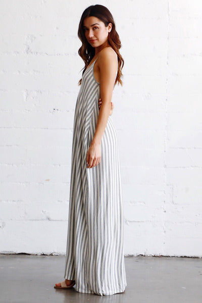 WONDER STRIPED MAXI
