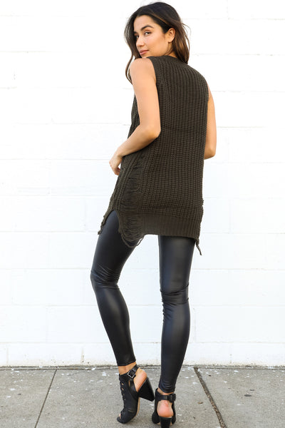 GOWER DISTRESSED KNIT