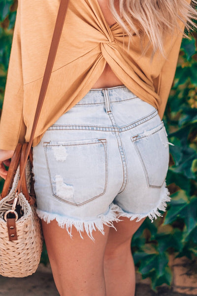 HARBOR DENIM SHORT