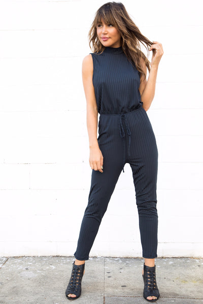 LINDON RIBBED PANTSUIT
