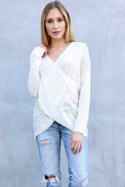 ALABASTER CROSS KNIT