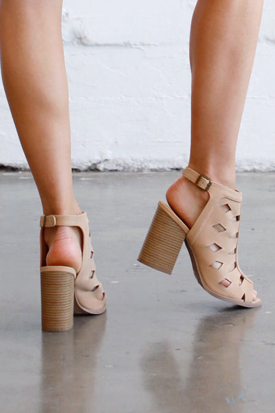 BRAMMER CUT OUT BOOTIE