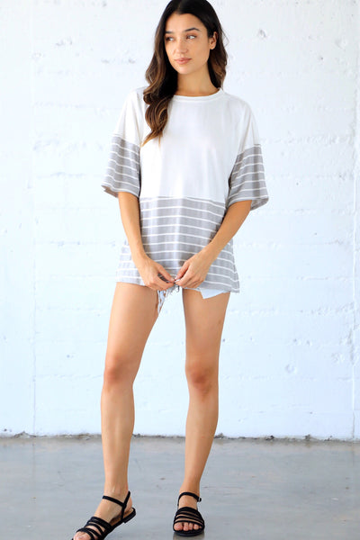 PIPER STRIPED TEE