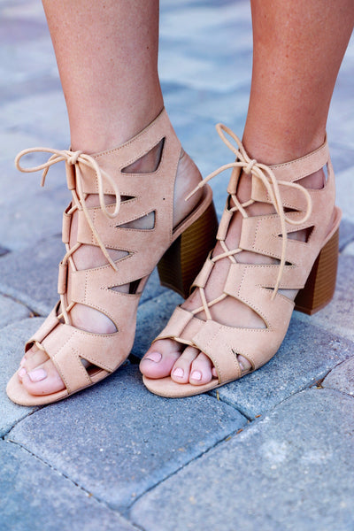 ARIELLE LACE UP BOOTIE