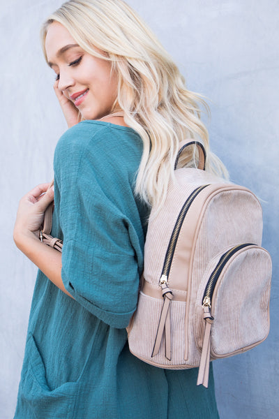 BERKLEY BACKPACK (TAN)