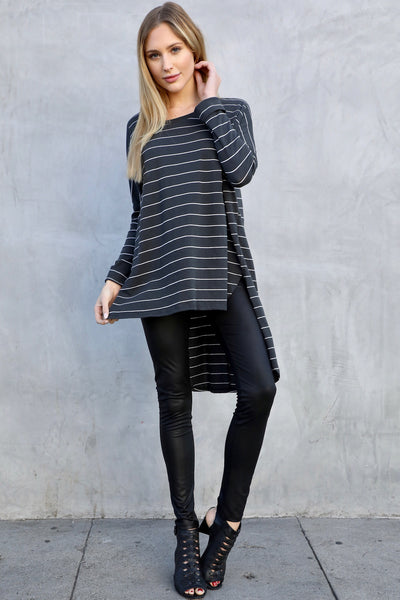 VENDETTA STRIPED L/S