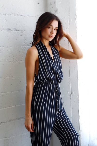 STORMY STRIPED PANTSUIT