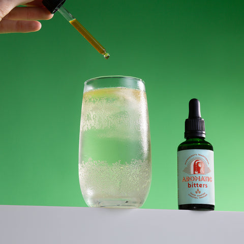 traditional bitters tincture in water