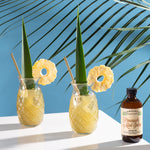 Pineapple Mint Julep tropical cocktails