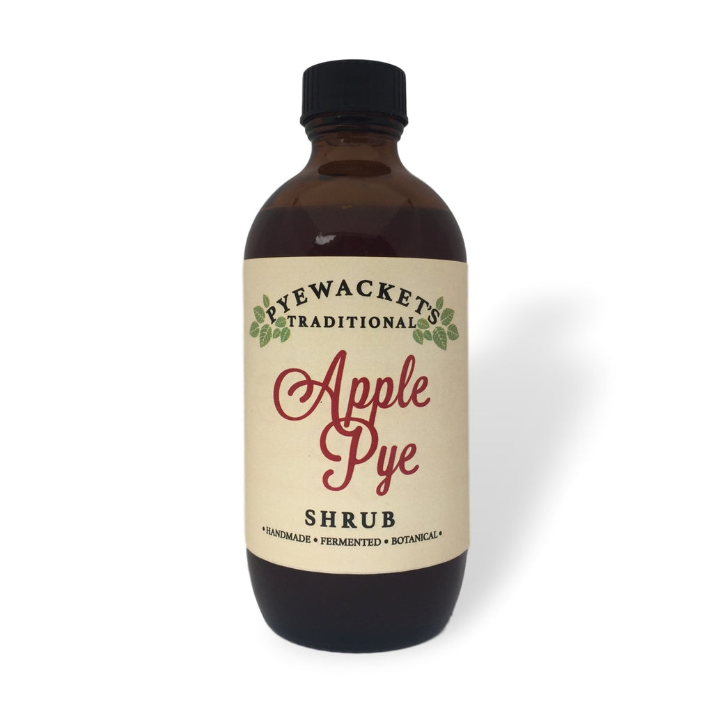 apple pye shrub syrup