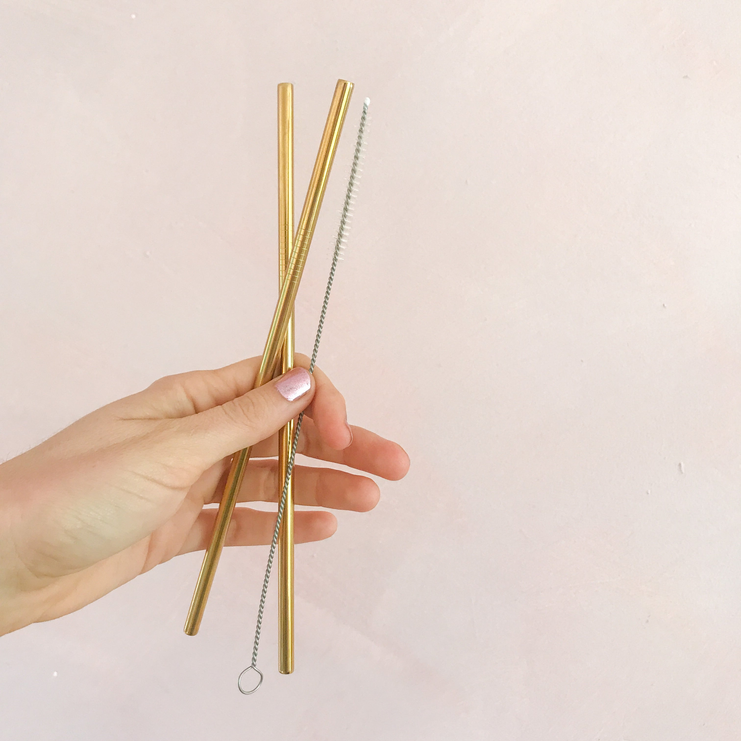 Gold Reusable Straws
