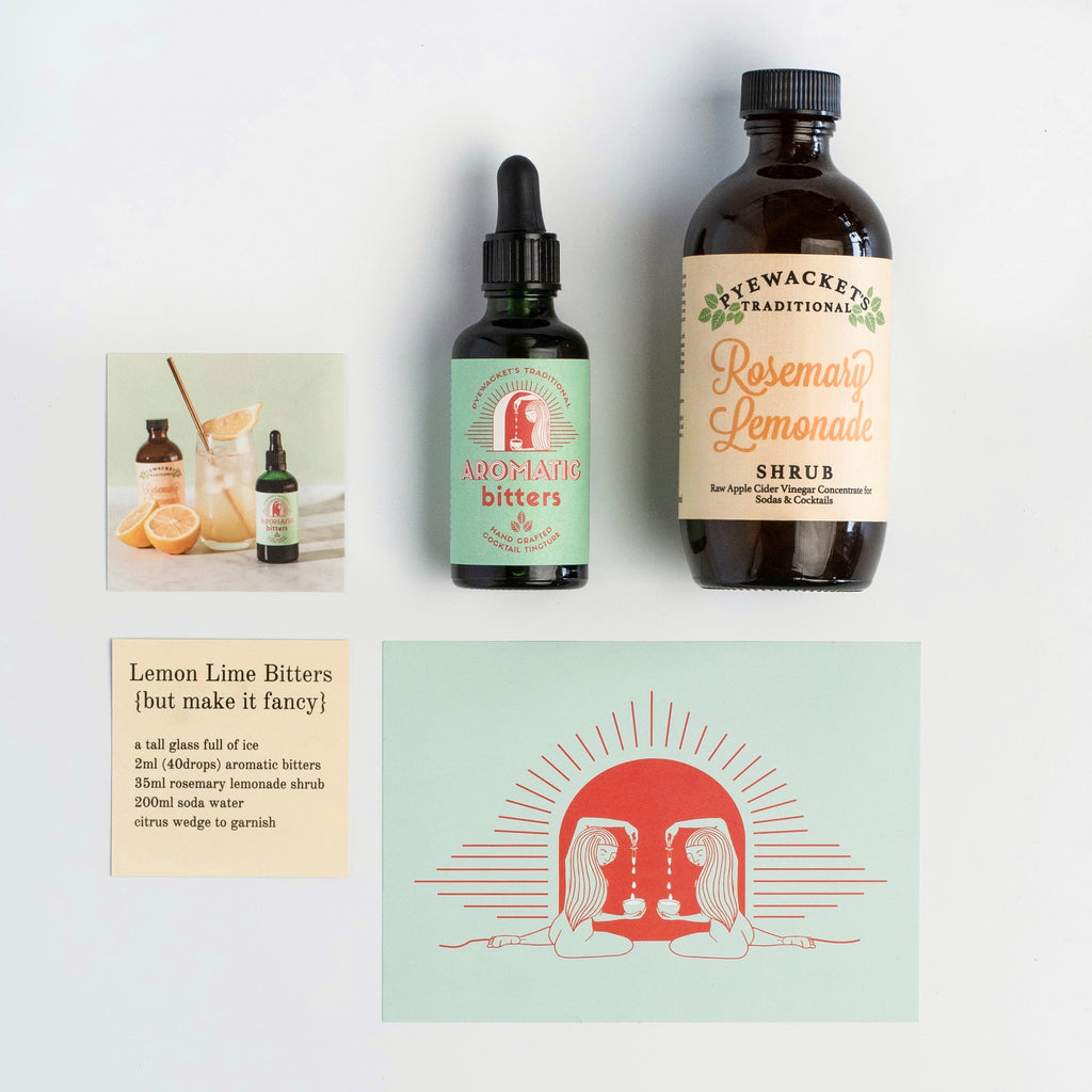 Lemon Lime & Bitters kit