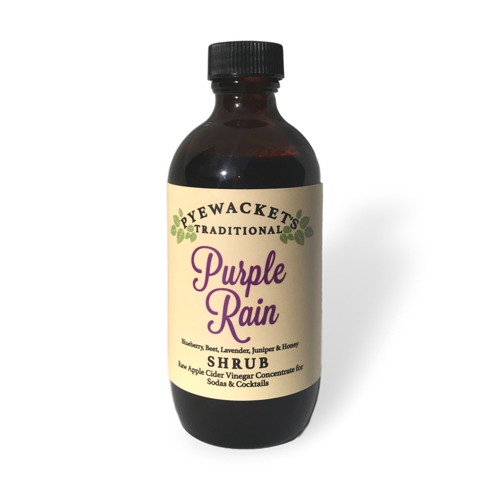 purple rain shrub syrup