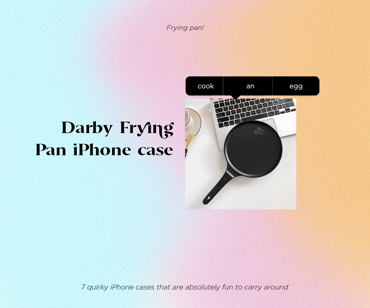 Darby Frying Pan iPhone case