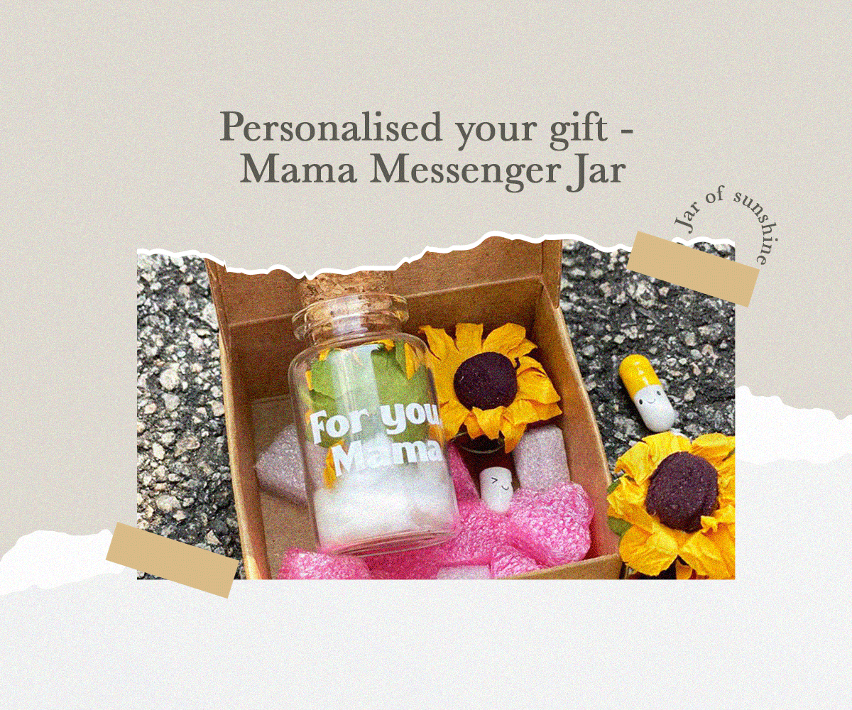 Personalised your gift - Mama Messenger Jar