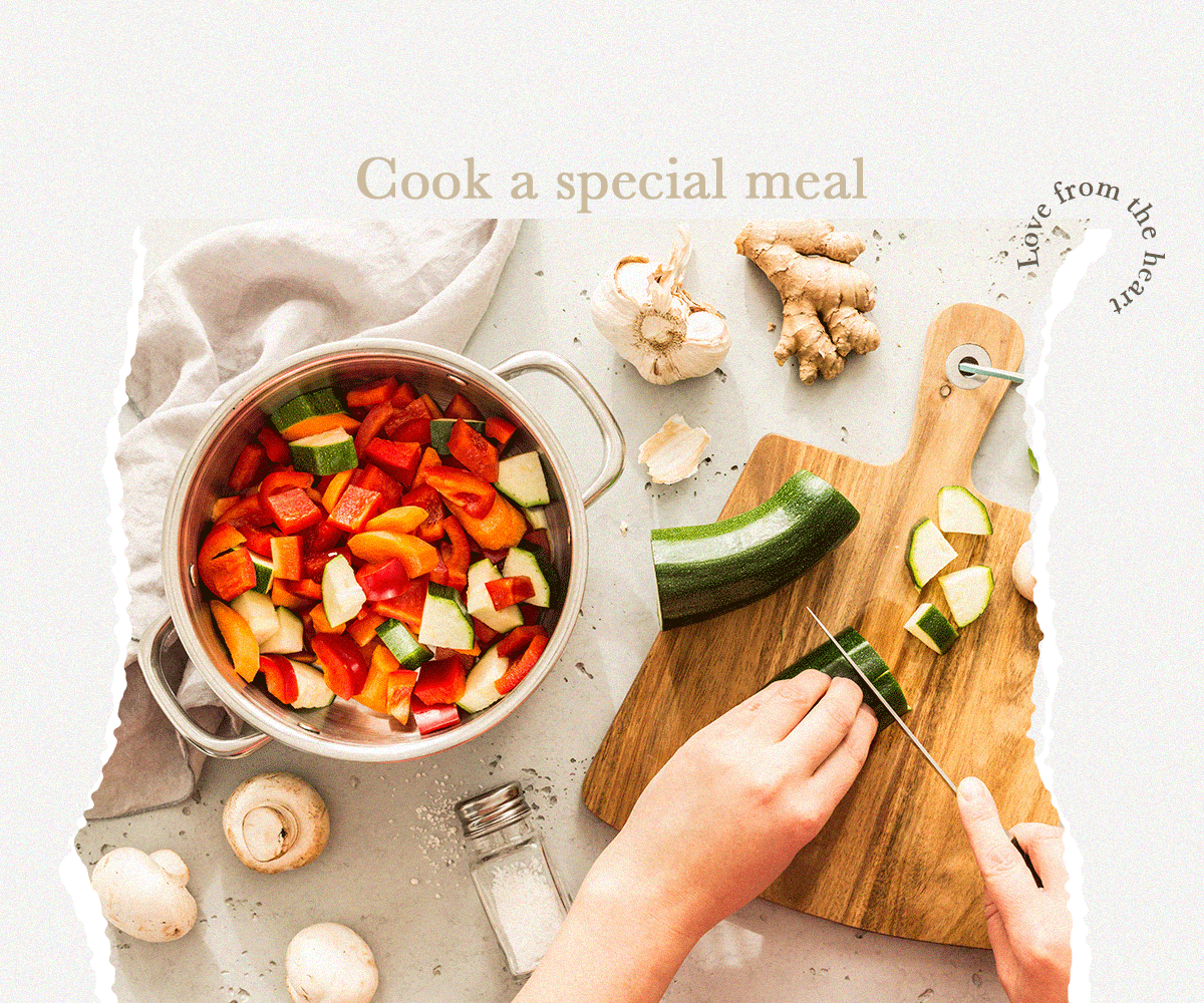 Cook a special meal