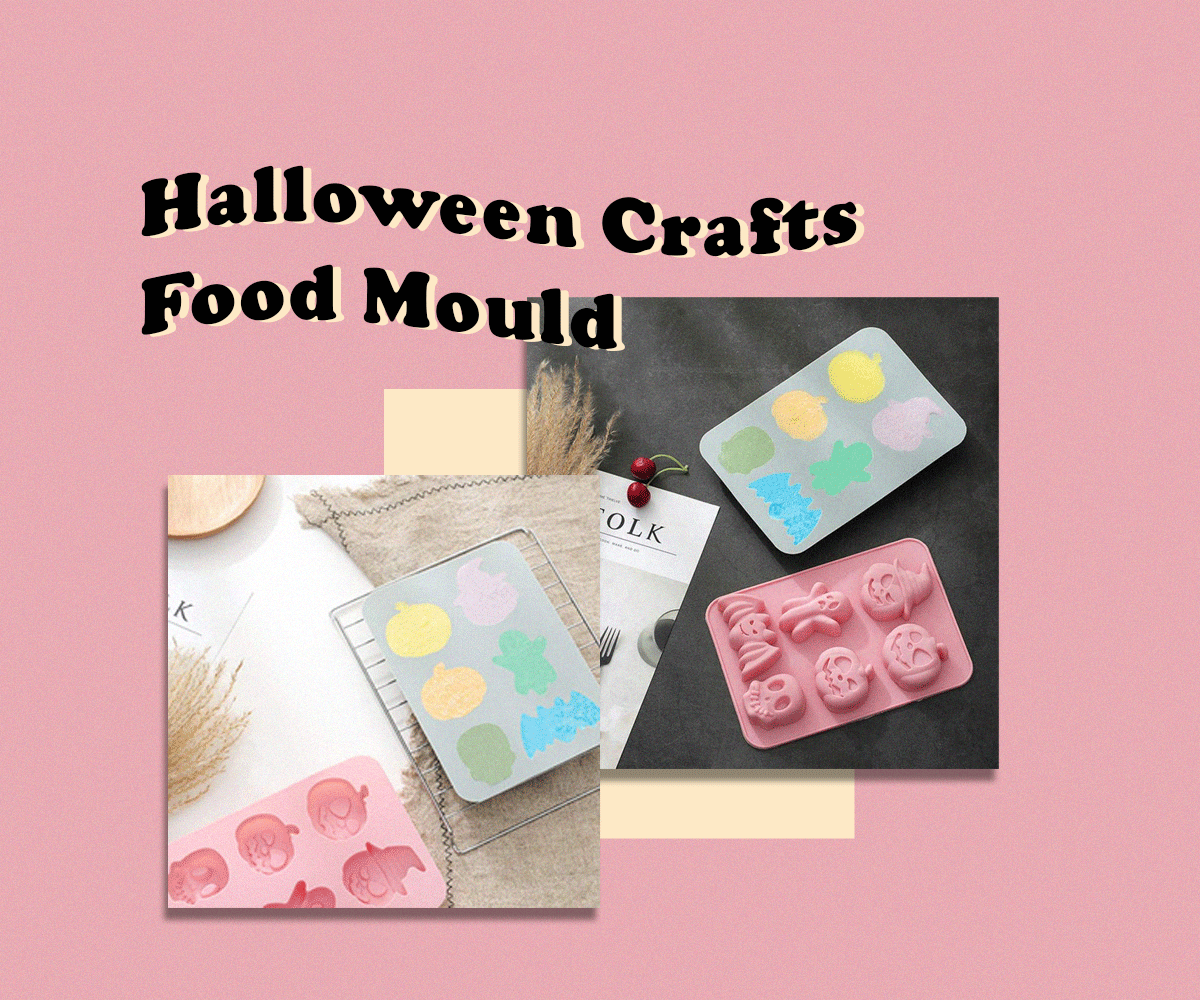 Fun Halloween recipes with craft moulds