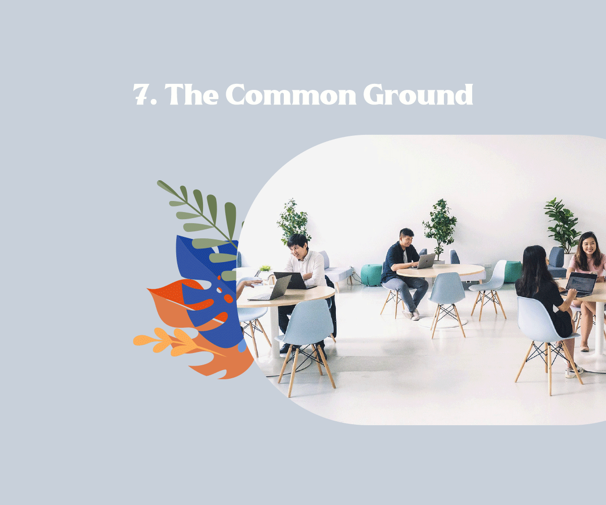 The Common Ground Coworking Space