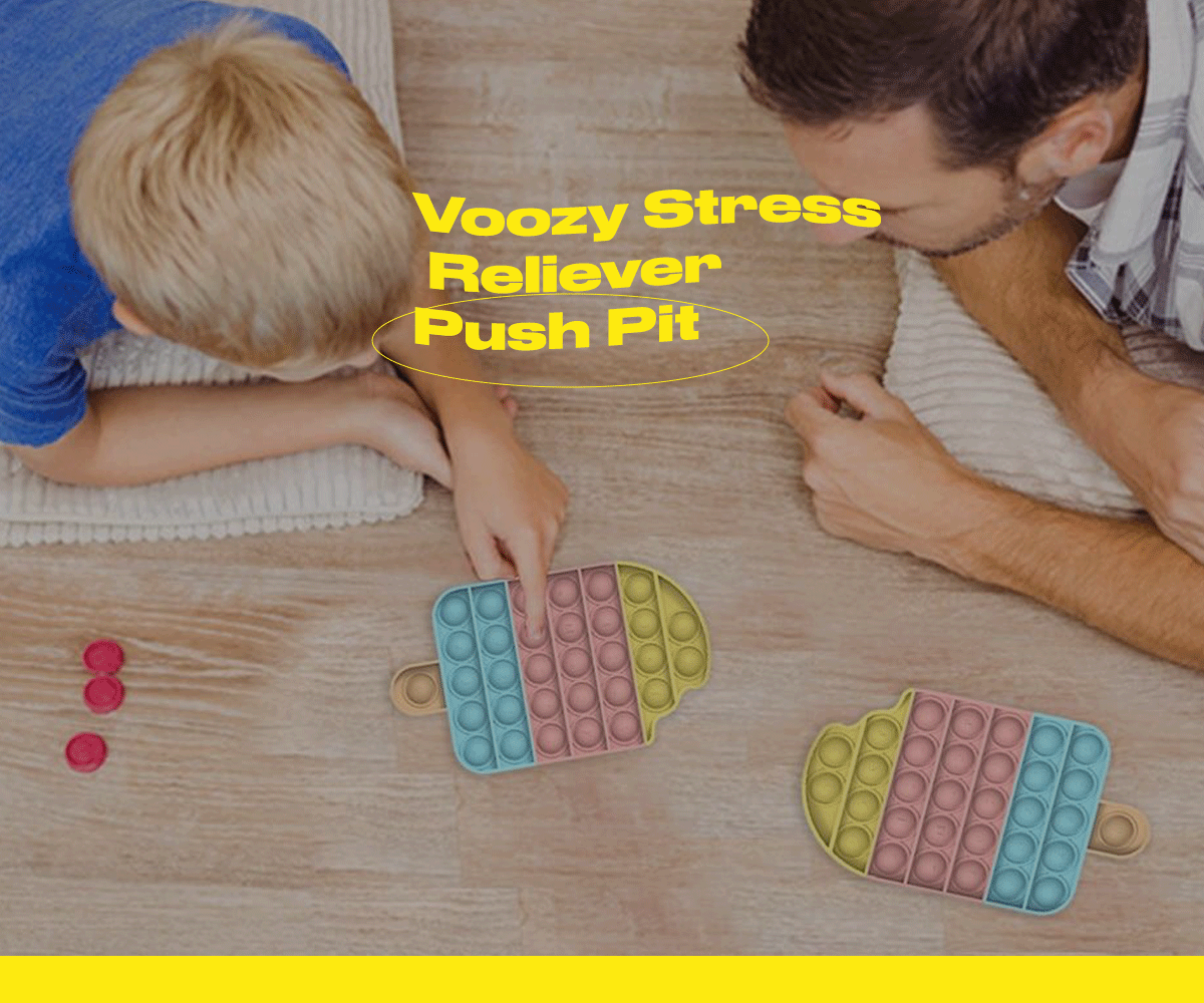 Voozy Stress Reliever Push Pit