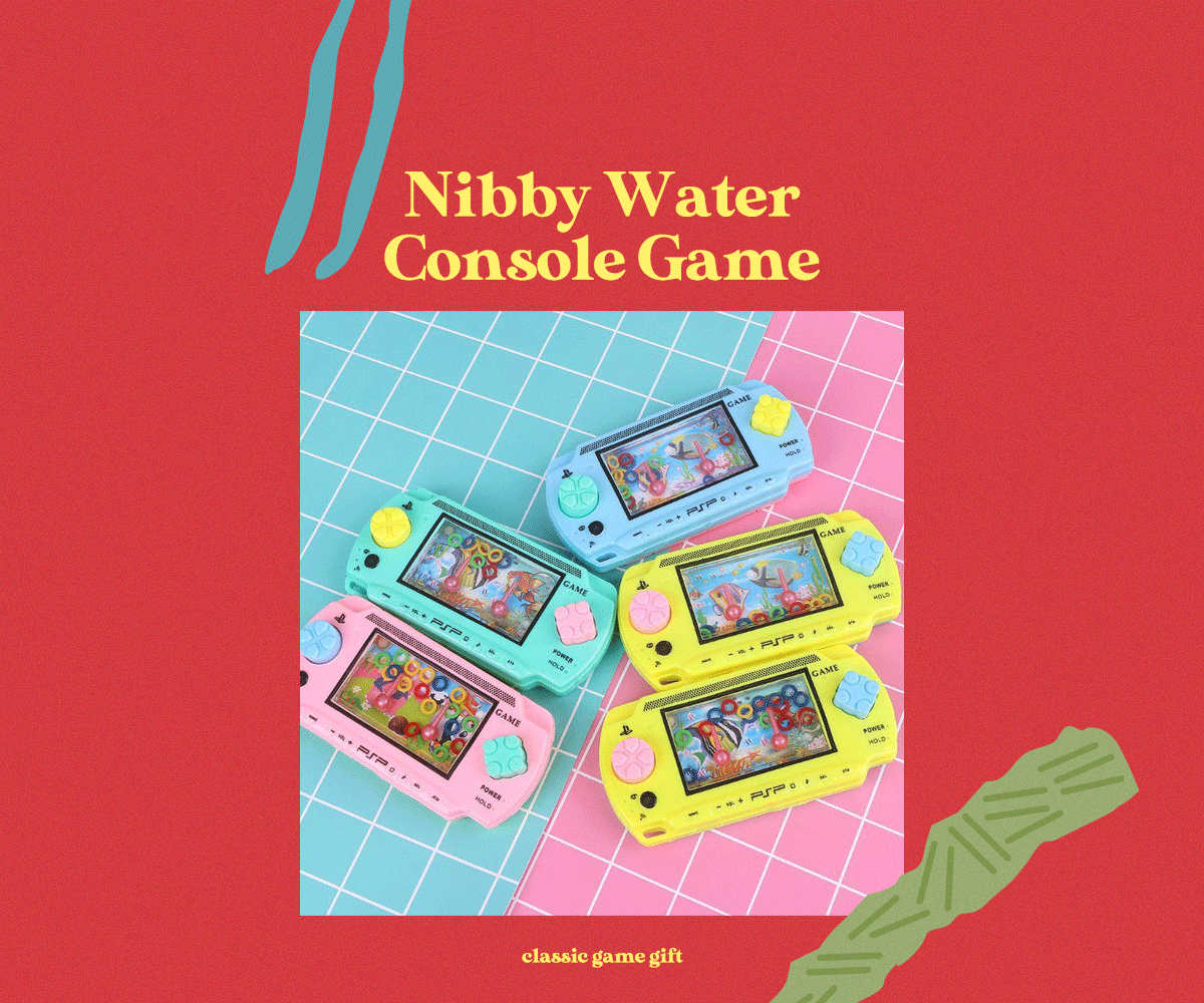 Nibby Water Console Game