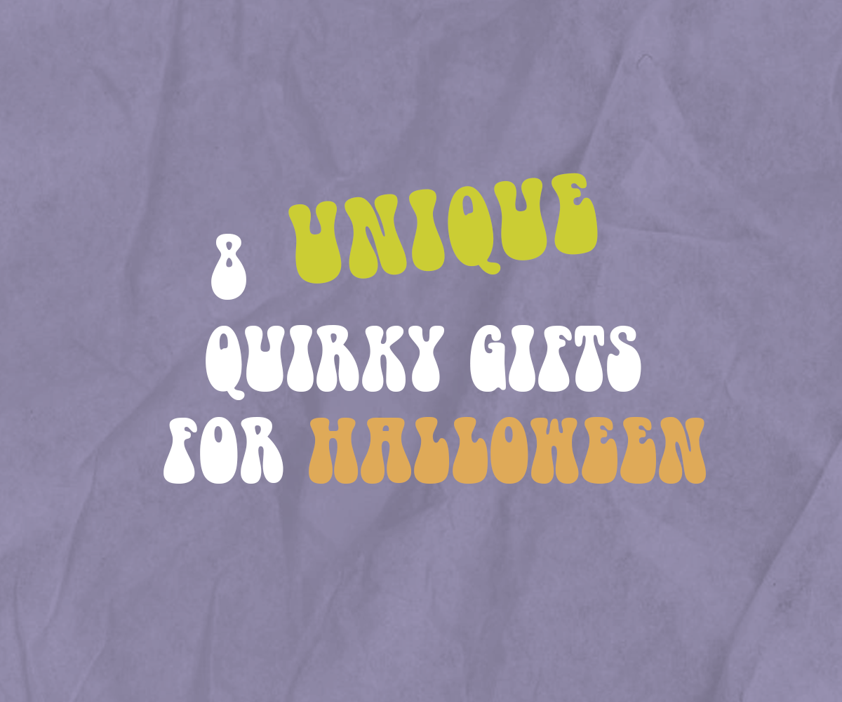 8 unique quirky gifts for Halloween