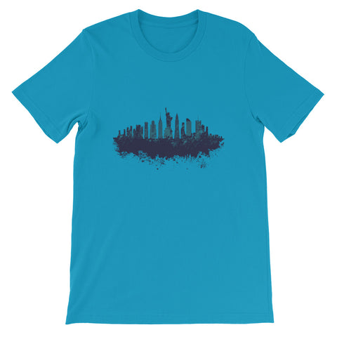 NEW YORK CITY GRAPHIC UNISEX T SHIRT-HUESOME