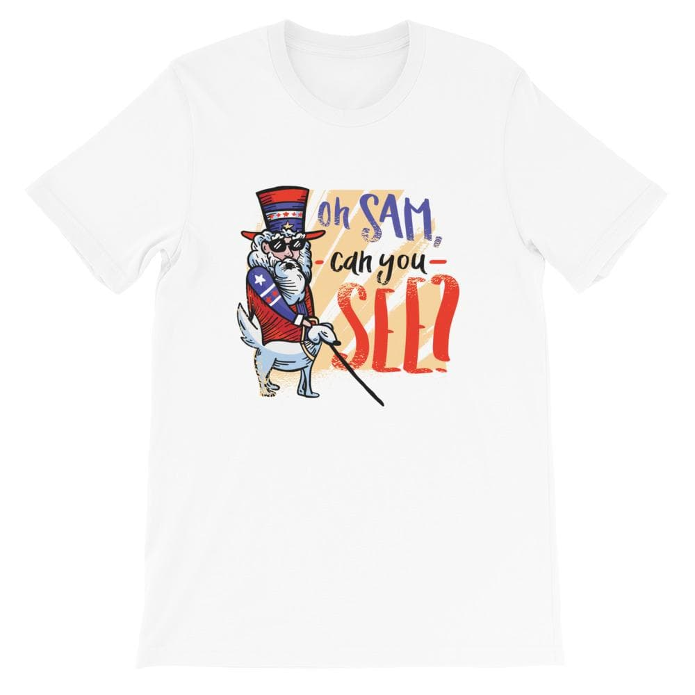 4TH JULY FUNNY UNISEX T SHIRT - HUESOME
