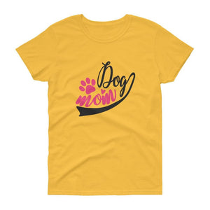 DOG MOM WOMEN'S T SHIRT | HUESOME