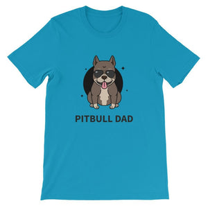 PITBULL DAD UNISEX T SHIRT | HUESOME