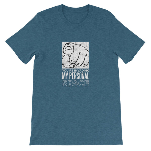 PERSONAL SPACE UNISEX T SHIRT-HUESOME