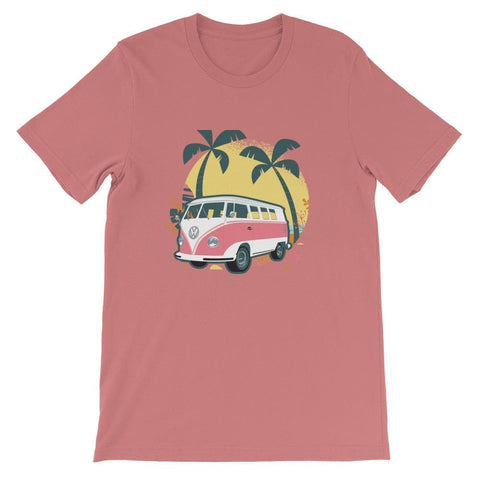 BEACH VAN SUMMER UNISEX T SHIRT | HUESOME