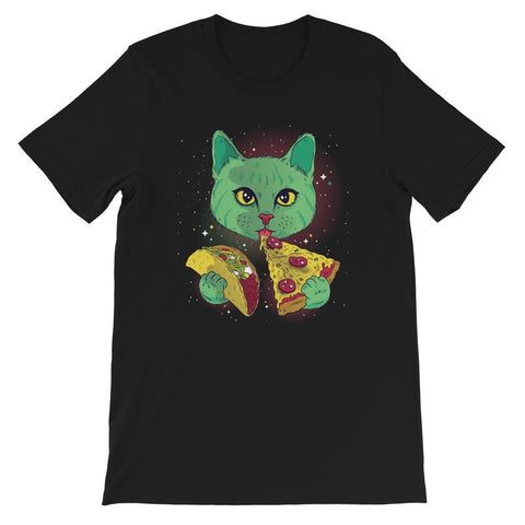 COSMIC CAT UNISEX T SHIRT | HUESOME