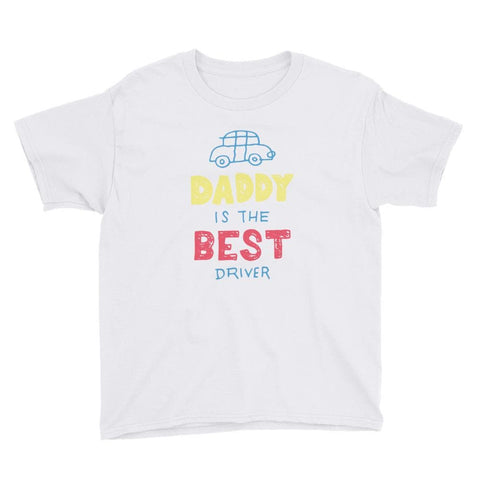 DADDY DRIVER KID'S T SHIRT | HUESOME