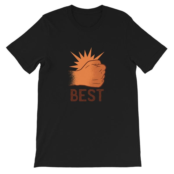 BEST BUDS UNISEX T SHIRT - HUESOME