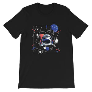 ABSTRACT SPACE FORCE UNISEX T SHIRT | HUESOME