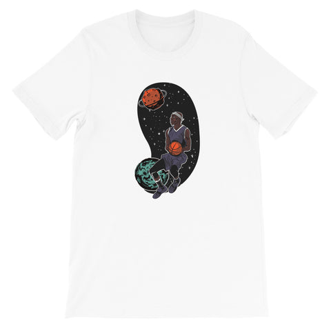 SPACE FORCE BASKETBALLER UNISEX T SHIRT-HUESOME