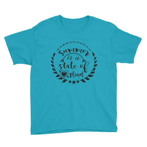 SUMMER STATE OF MIND KID'S T SHIRT | HUESOME
