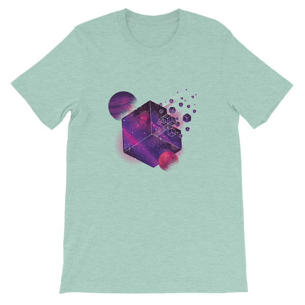 SPACE FORCE CUBE UNISEX T SHIRT-HUESOME