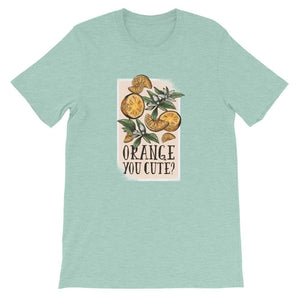 SUMMER ORANGE UNISEX T SHIRT | HUESOME